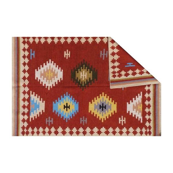 Vlněný koberec Bakero Kilim No. 735, 155x240 cm