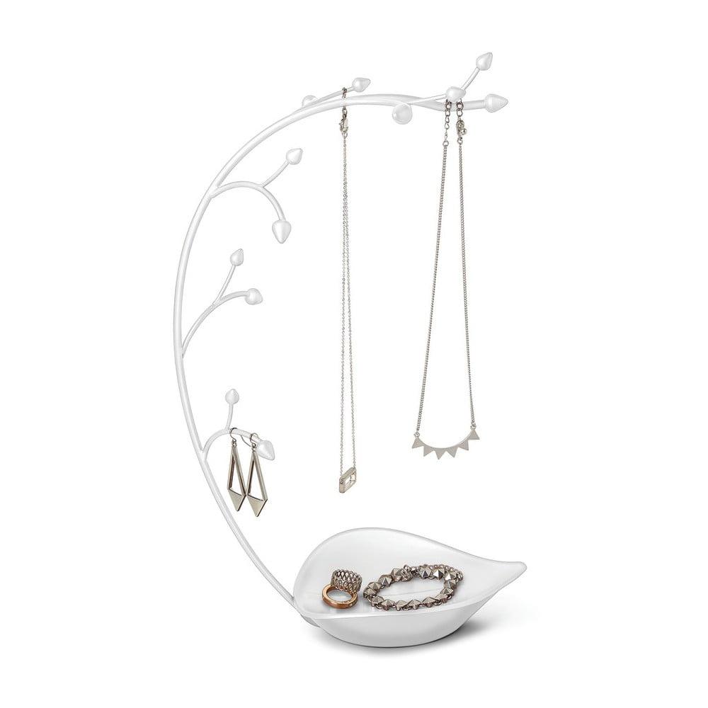 Bílý stojánek na šperky Umbra Orchid