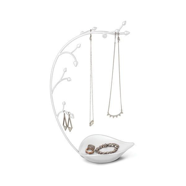 Biały stojak na biżuterię Umbra Orchid