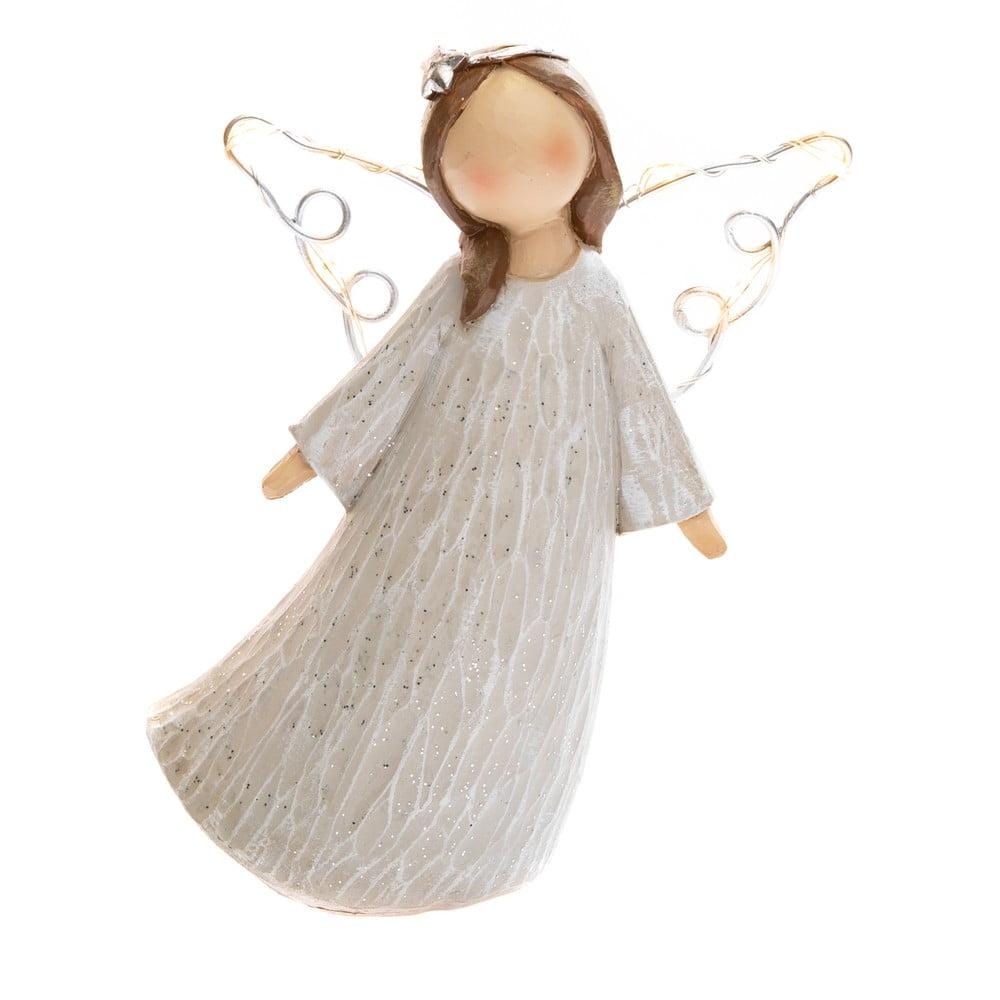 Dekorativní anděl se svítícími křídly Dakls