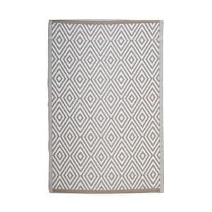 Béžovobílý koberec vhodný i na ven InArt Altino,120x180cm