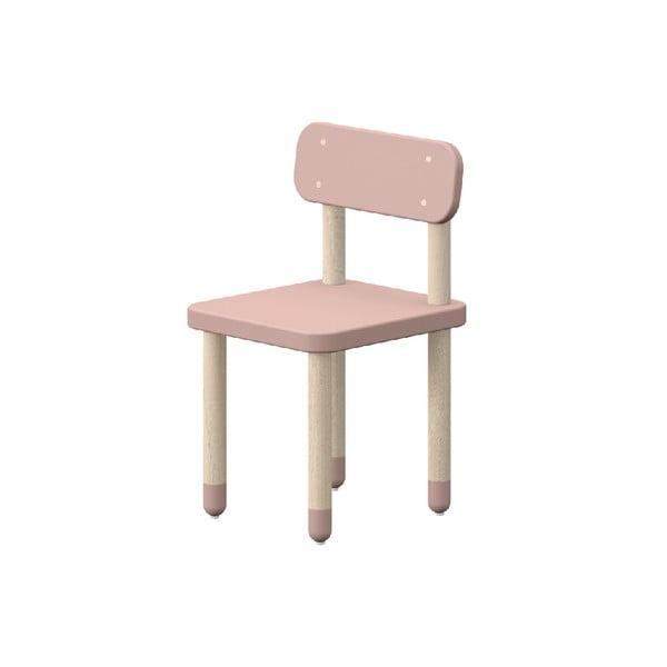 Różowe krzesełko dziecięce Flexa Play