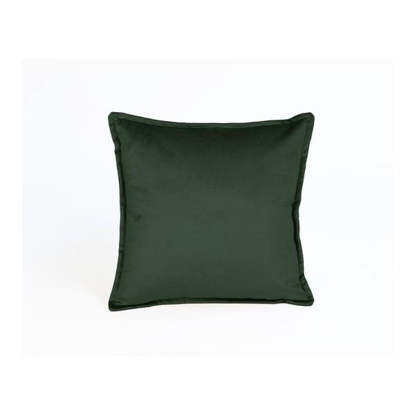 Față de pernă decorativă Velvet Atelier 45 x 45 cm, verde