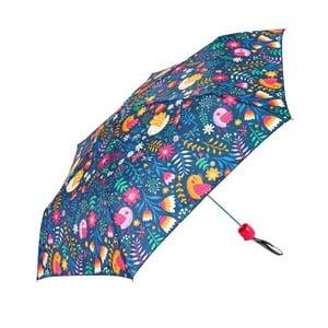 Umbrelă pentru copii Ambiance Colorful Flower Print