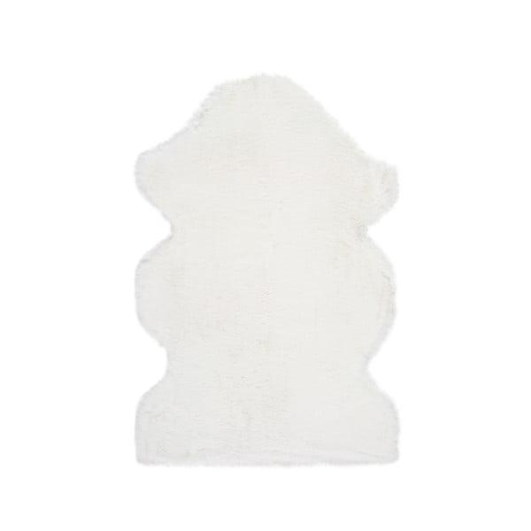 Bílý koberec Universal Fox Liso, 60 x 90 cm