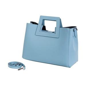 Světle modrá kabelka z pravé kůže Andrea Cardone Pietro