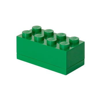 Cutie depozitare LEGO® Mini Box Green Lungo, verde imagine