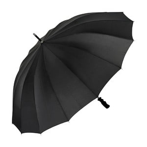 Černý holový deštník Von Lilienfeld Cleo XXL