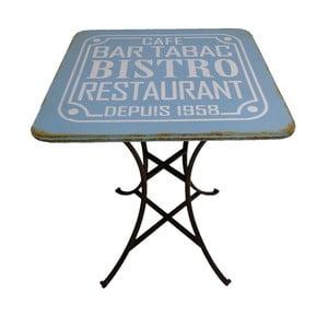 Kovový stůl Pub Bleu