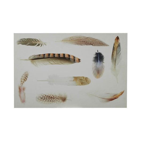Cedule Feather, 40x60 cm