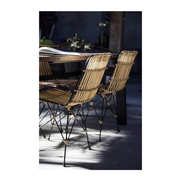 Proutěná židle Dutchbone Kubu