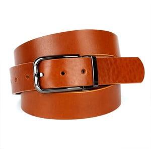 Pánský kožený pásek 3PJ30 Cognac, 90 cm