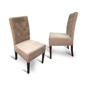 Židle 98 Beige Karo