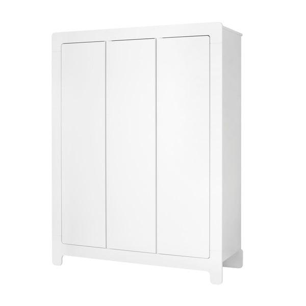 Moon fehér ruhásszekrény, 185 x 142 cm - Pinio