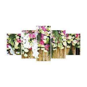 Vícedílný obraz La Maison Des Couleurs Flowers