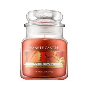 Vonná svíčka Yankee Candle Pomeranč se špetkou koření, doba hoření 25 - 40 hodin