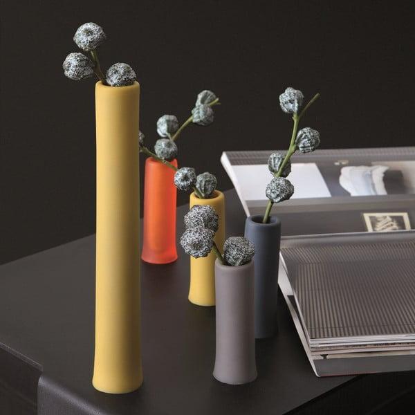 Univerzální nižší nádoby Assolo Medio 2 ks, žluté