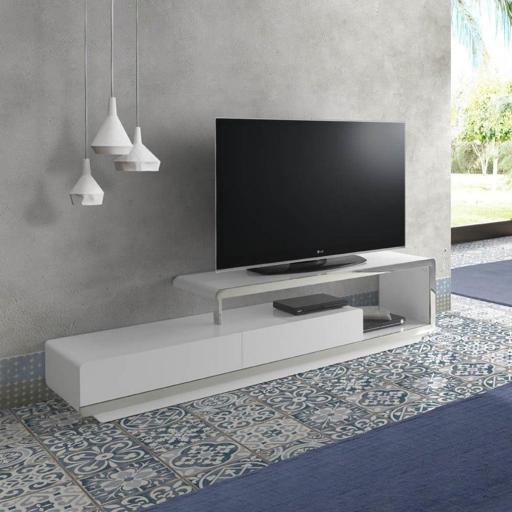 comod tv ngel cerd aracelis alb bonami. Black Bedroom Furniture Sets. Home Design Ideas