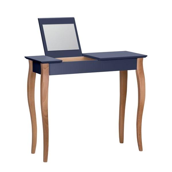 Dressing Table grafitszürke fésülködőasztal tükörrel, 85 cm hosszú - Ragaba