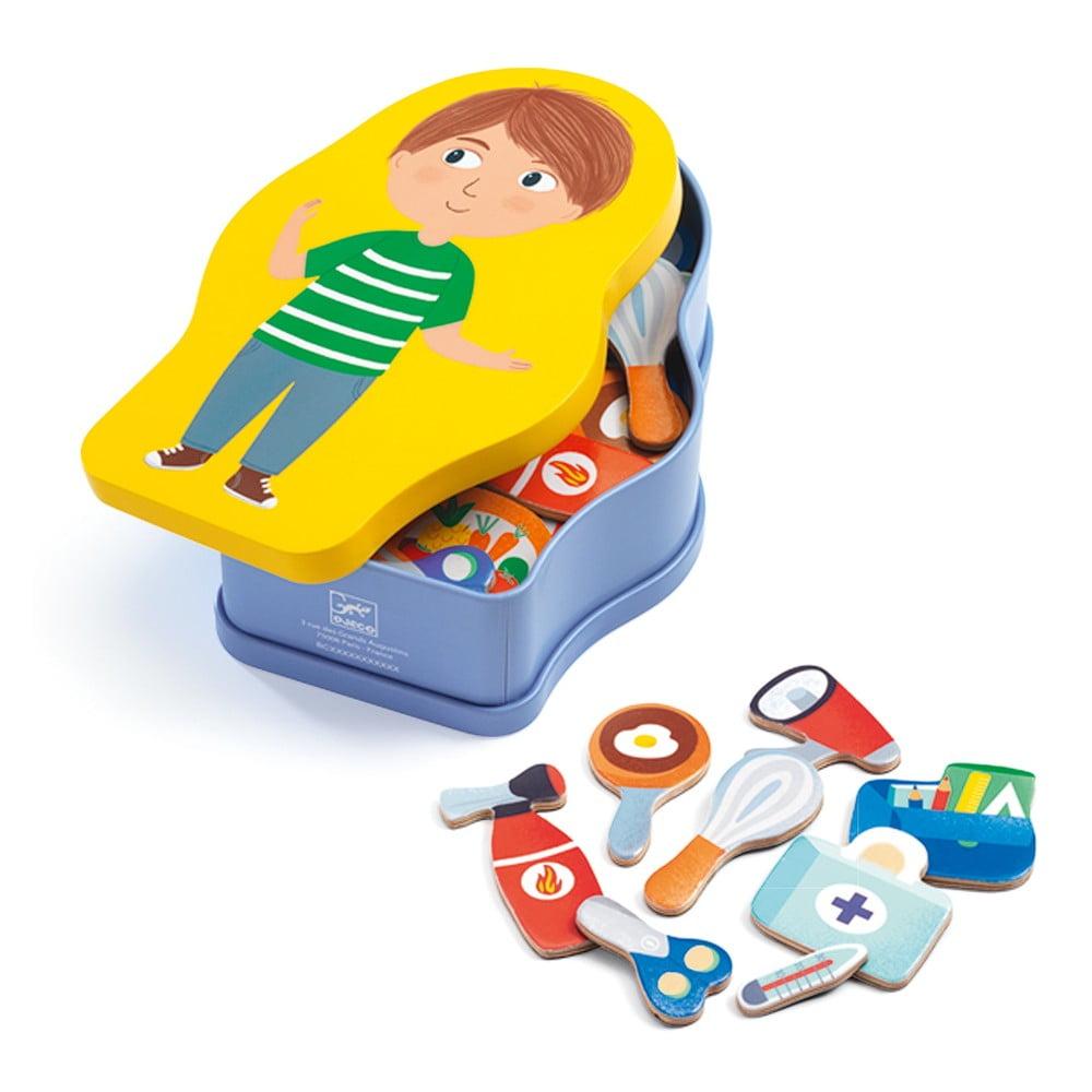 Dětská magnetická hra Djeco Povolání