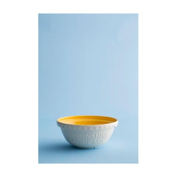 Bílá kameninová mísa s žlutým vnitřkem Mason Cash Baker's Authority, ⌀ 26 cm