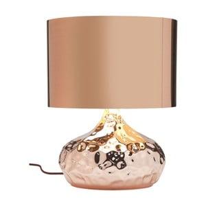 Stolní lampa v měděné barvě Kare Design Rumble
