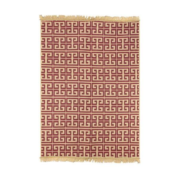 Červenobéžový koberec Ya Rugs Tee, 120x180cm