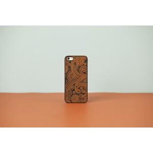 Dřevěný obal na iPhone 4 Damasked, black