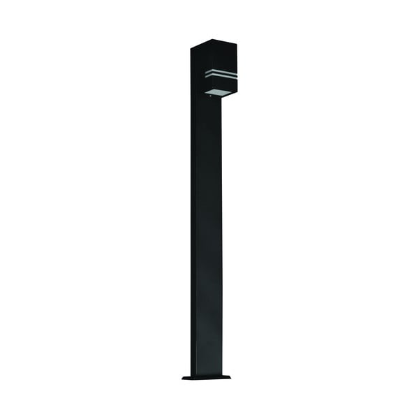 Černá zahradní lampa Kobi Quazar, výška 1m