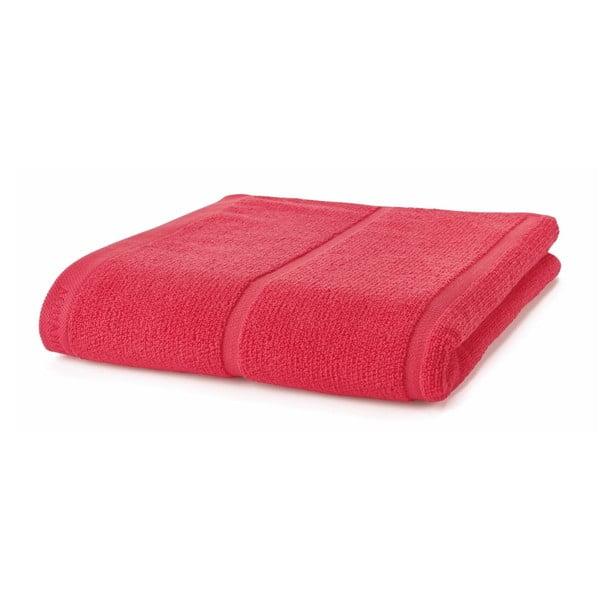 Korálově červený ručník Aquanova Adagio, 70x130cm
