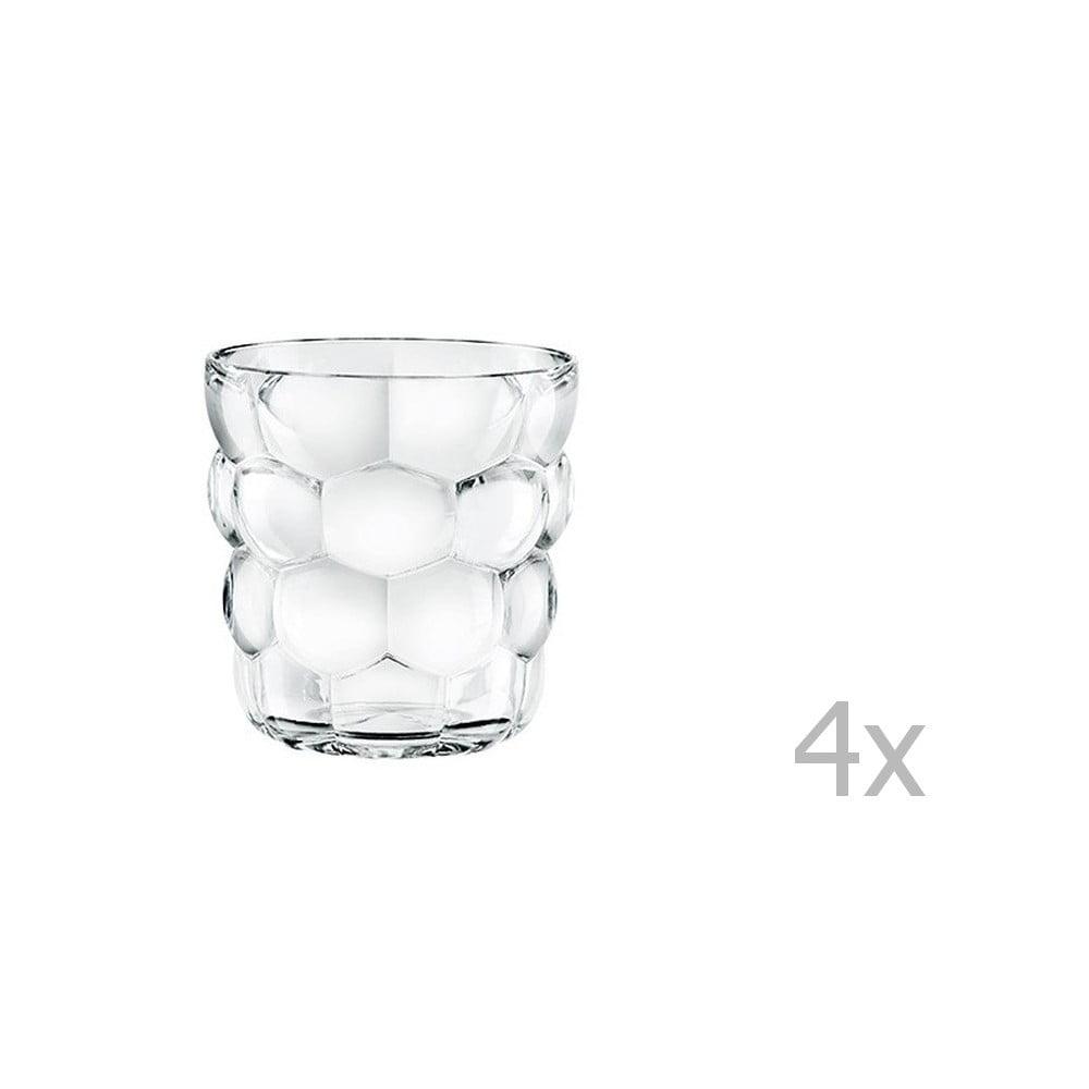 Sada 4 sklenic z křišťálového skla Nachtmann Bubbles, 240 ml