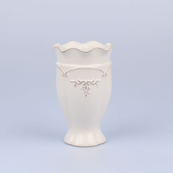 Váza Antic White, 11x17,5 cm