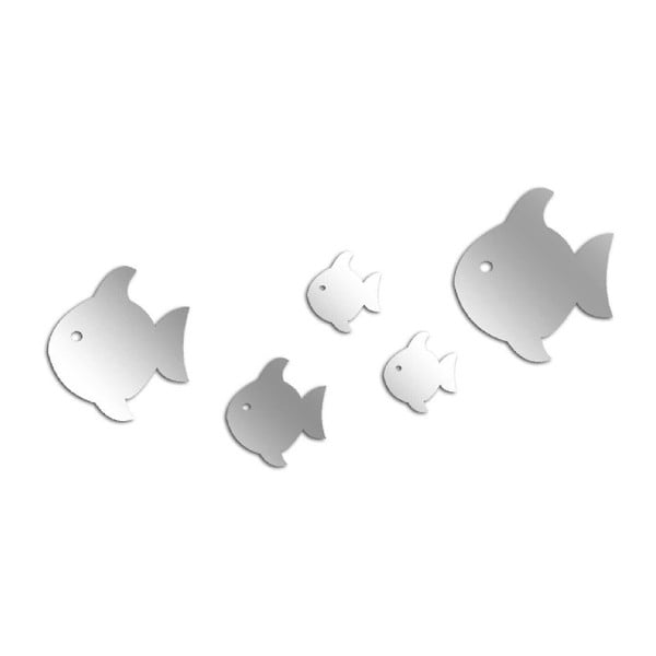 Dekorativní zrcadlo Fish Mob