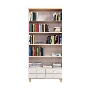 Bibliotecă din lemn de pin Askala Scala