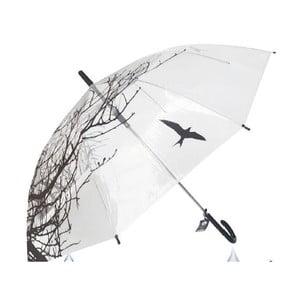 Transparentní deštník Du Parapluie Nature