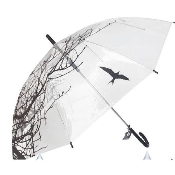 Transparentní holový deštník Nature, ⌀105cm
