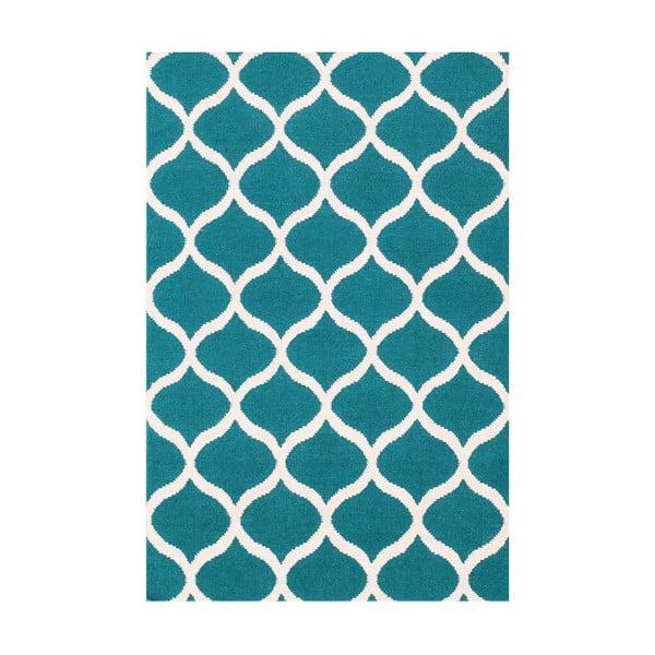 Vlněný koberec Alize, 120x180 cm, modrý