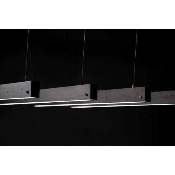 Závěsné stropní svítidlo YI, betonové