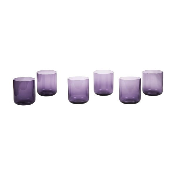 Sada 6 sklenic Venice Purple