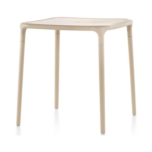Béžový jídelní stůl Magis Air, 65x65cm