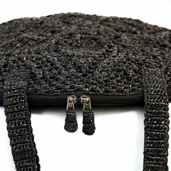 Kabelka Wheel, černá