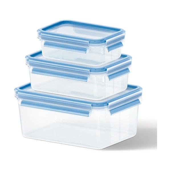 3 boxy na uskladnění jídla Clip&Close, 0.55+1+2.3 l