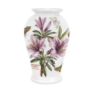 Kameninová váza s květinami Portmeirion Azalea, výška 20 cm