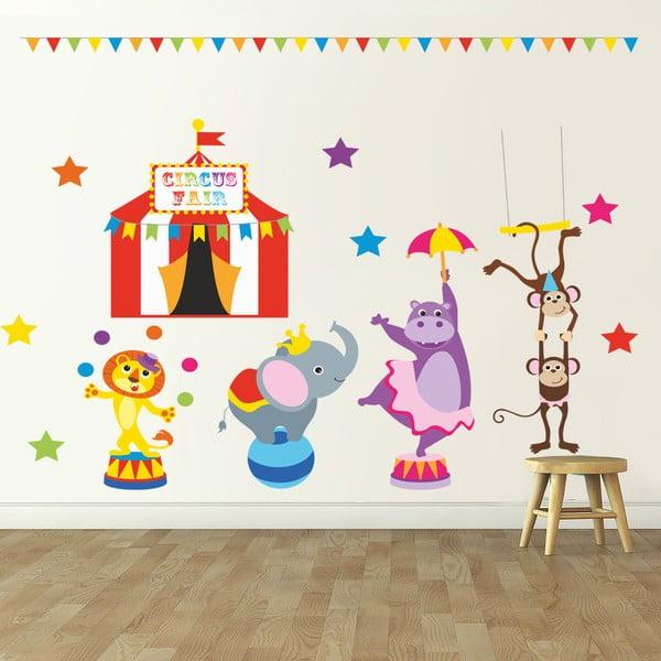 Samolepka na stěnu Cirkusové vystoupení