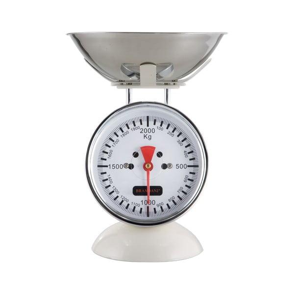 Kuchyňská váha, bílá