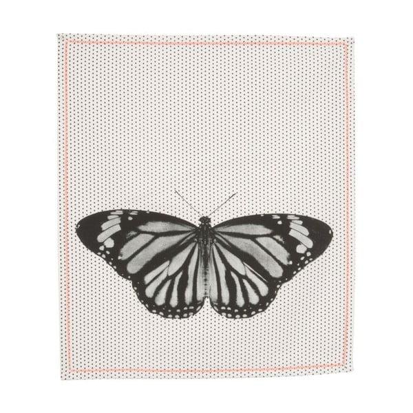 Kuchyňská utěrka Dotty Butterfly, 55x65 cm