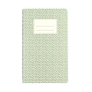 Zápisník Rex London Green Abstract