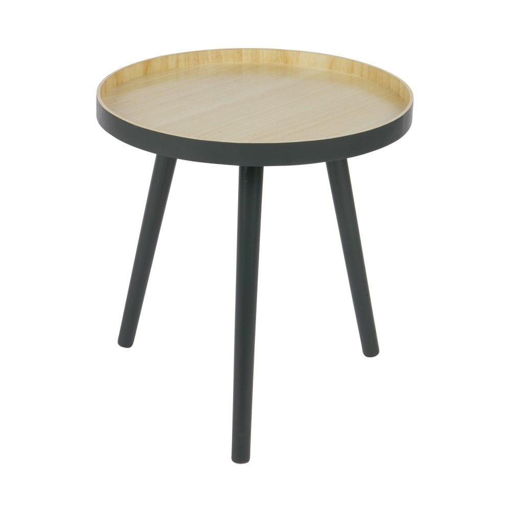 Odkládací stolek s antracitově šedou konstrukcí De Eekhoorn Sasha