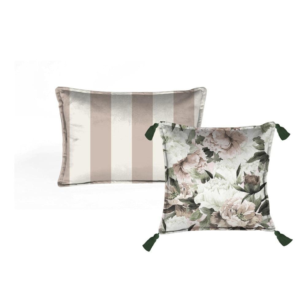 Sada 2 dekorativních polštářů Velvet Atelier Lili, 45 x 45 cm