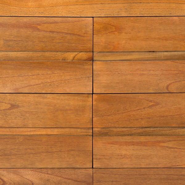 Komoda se šuplíky z lakovaného dřeva Thai Natura Chest, 125 x 80 cm